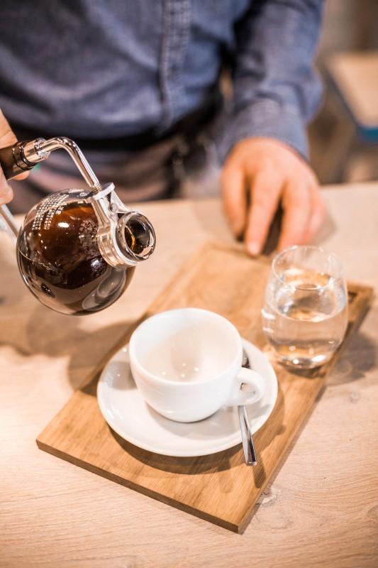 Vakuum Kaffee