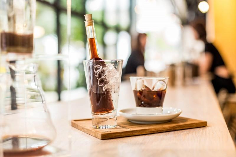 Cold Brew Kaffee als Cold Drip