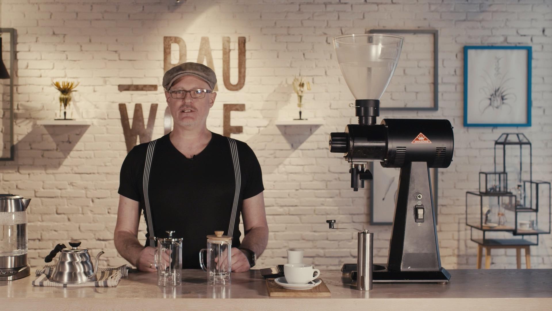 Schritt 1 der French Press Anleitung: Kaffee richtig mahlen