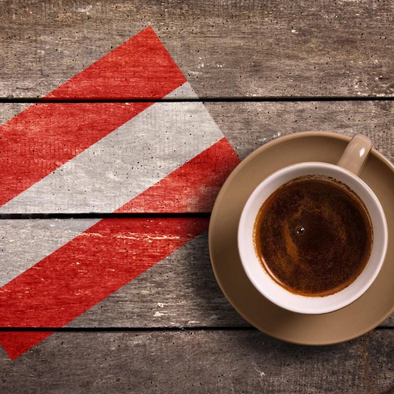 Kaffeespezialitaeten, die man eher in Österreich trinkt