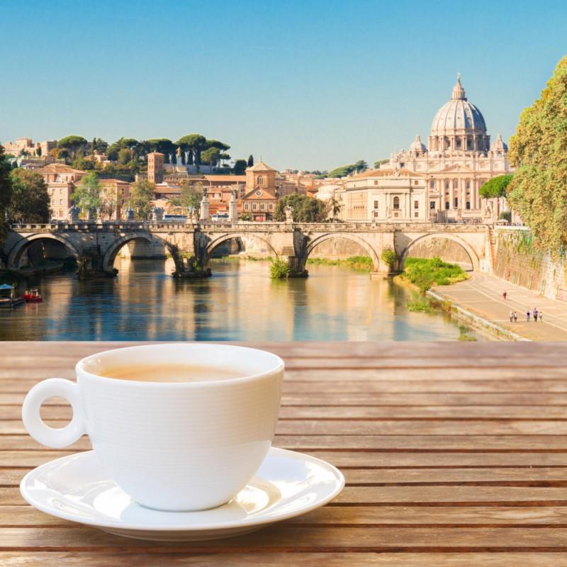 Italienischer Kaffee Vatikan Rom