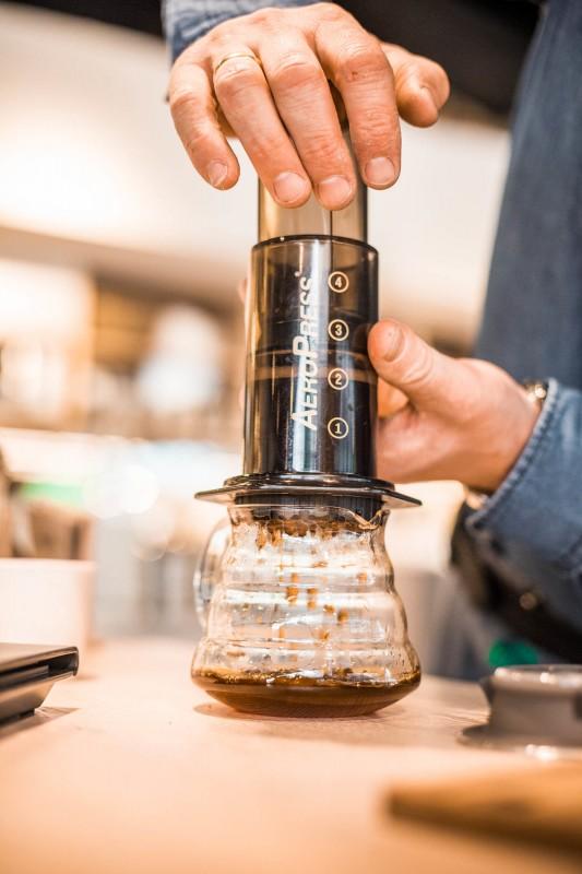 Aeropress Kaffee